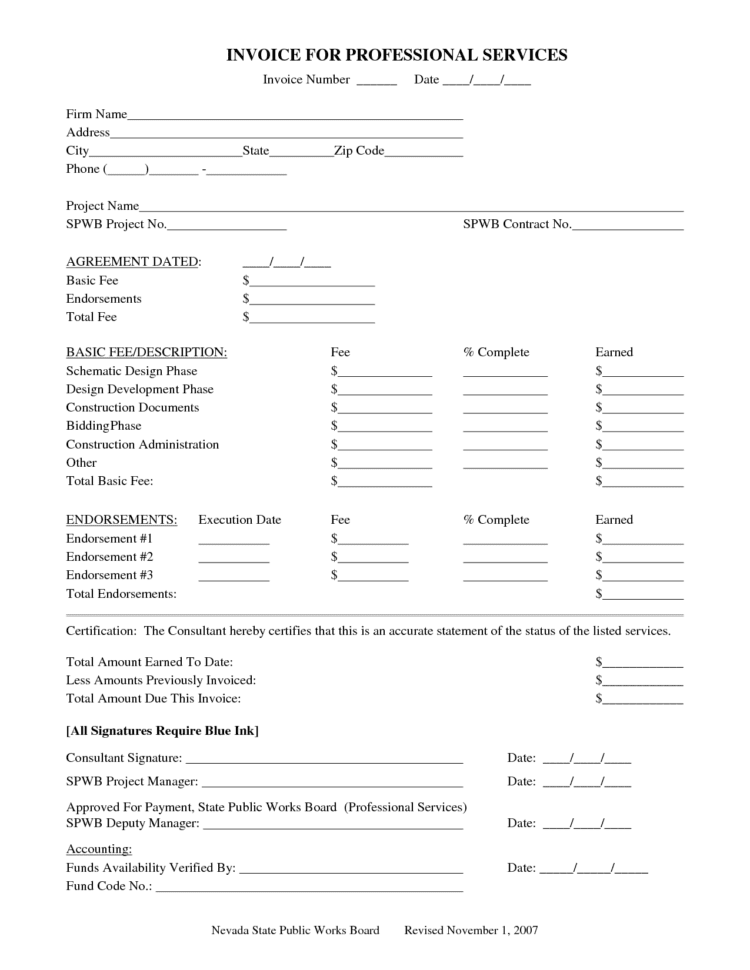 Work Invoice Template Weekly Invoice Template General Invoice Samples Professional Invoice Template Excel Professional Invoices Free Invoice Form Sample Free Invoice Template  Free Invoicing Software For Small Business Professional Invoice Template Spreadsheet Templates for Busines