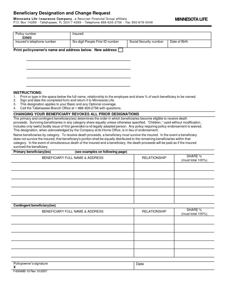 Free Printable Office Forms