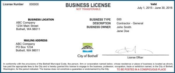 Get Your Business License Online
