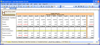 Simple Bookkeeping With Excel 1 Bookkeeping Excel Templates Spreadsheet Templates for Business