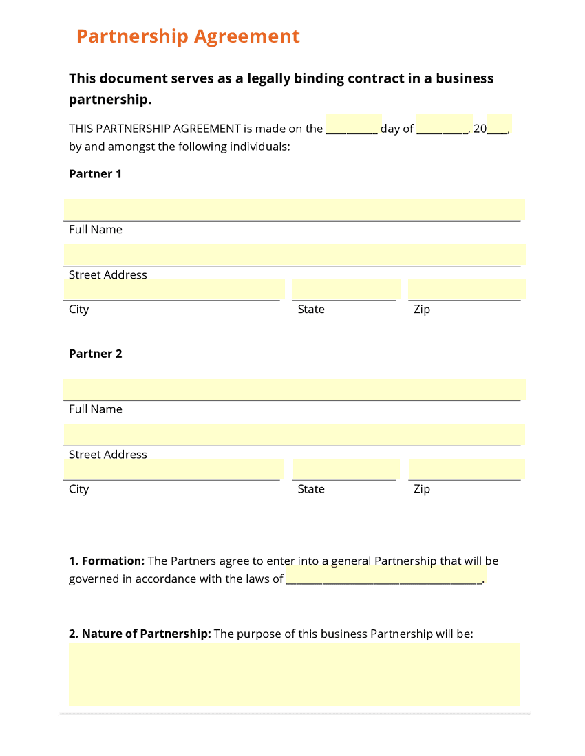 Simple Business Forms