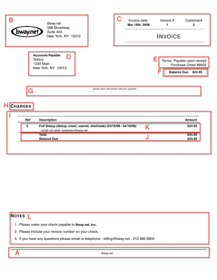Trucking Invoice Templates Printable Free
