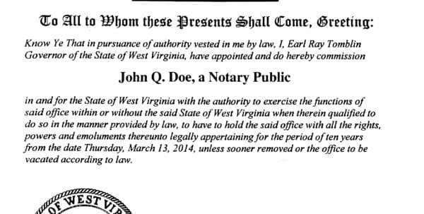 West Virginia Business License Registration