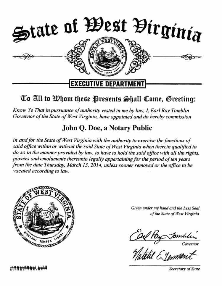 West Virginia Business License Registration