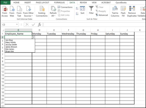 Accounting Excel Formulas