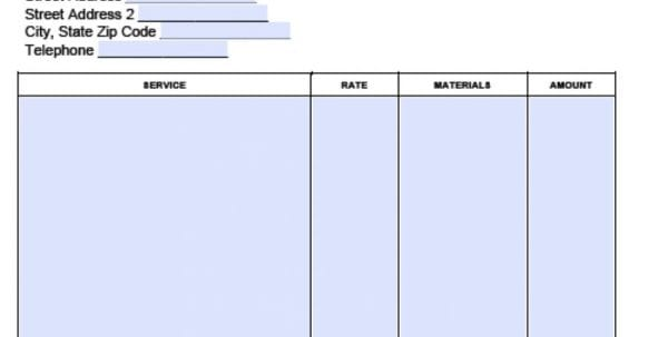 Basic Invoice Template Google Docs