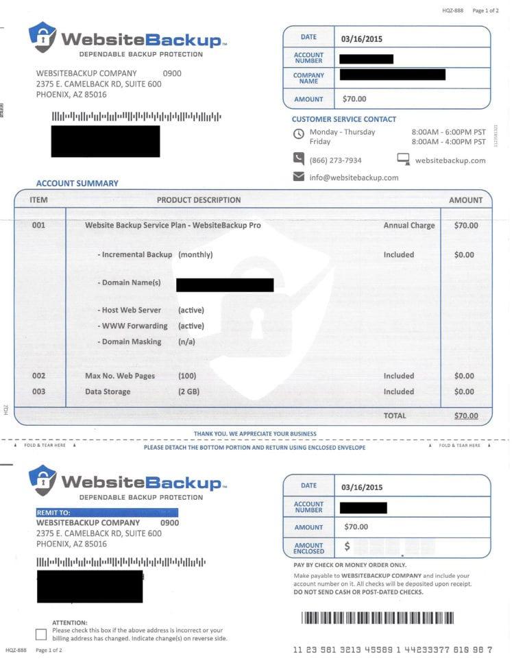 Bill Format Doc