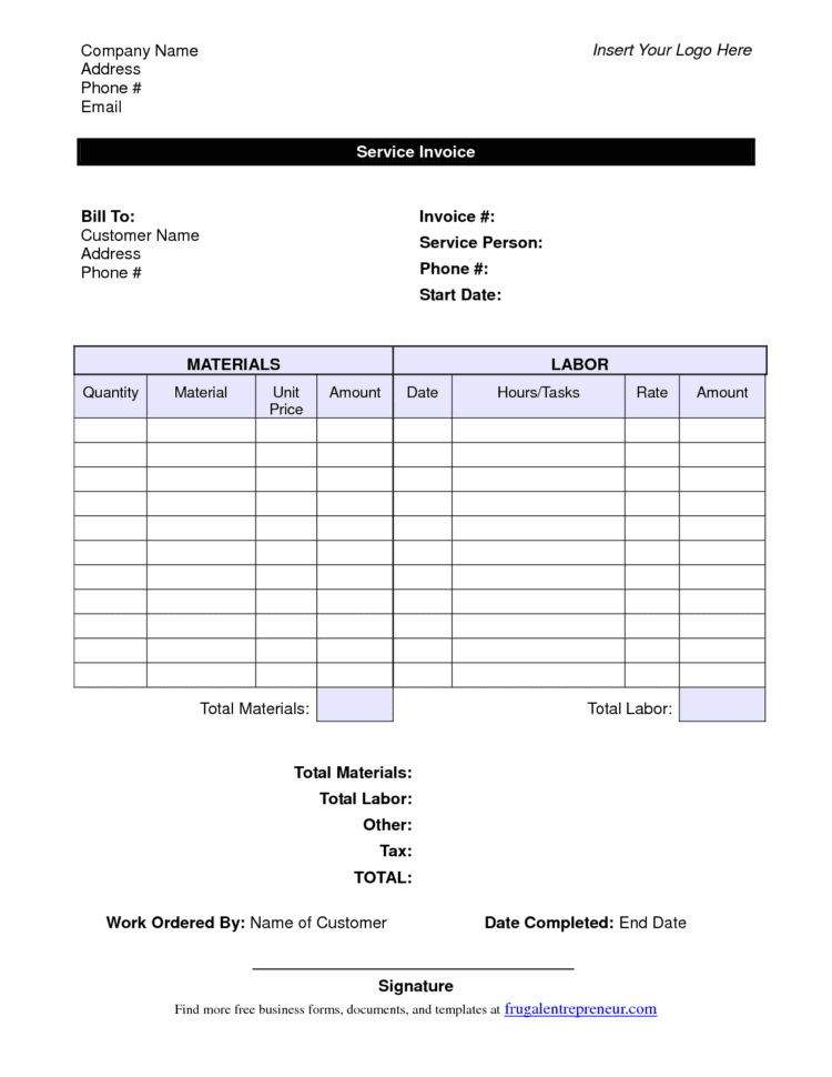 Labor Invoice Template Excel Free General Contractor Invoice Forms Labour Bill Format In Excel Office Word 2010 Invoice Template Labour Bill Format In Excel Free Download Simple Invoice For Labor Labor Receipt Invoice Samples  Blank Labor Invoice General Labor Invoice Spreadsheet Templates for Busines
