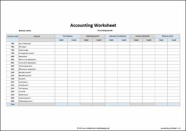 Bookkeeping Spreadsheet Example Bookkeeping Spreadsheet Template Free Spreadsheet Templates for Busines