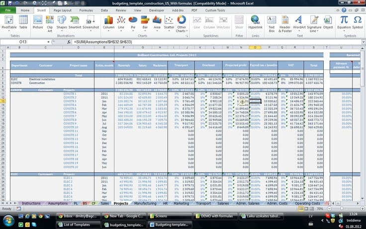 Bookkeeping Templates For Self Employed 1