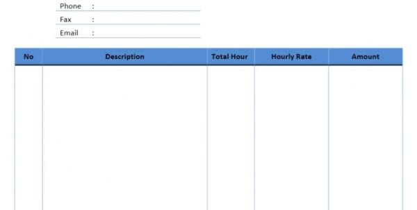 Consultant Invoice Template Word Doc Consulting Invoice Spreadsheet Templates for Business