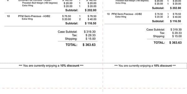 Dental Receipt Sample Dental Invoice Spreadsheet Templates for Business