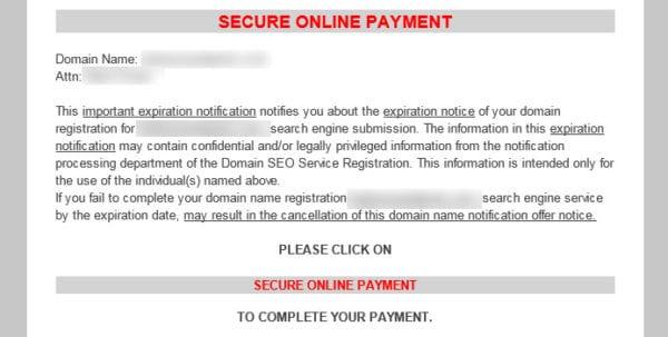 Domain Listings Bill