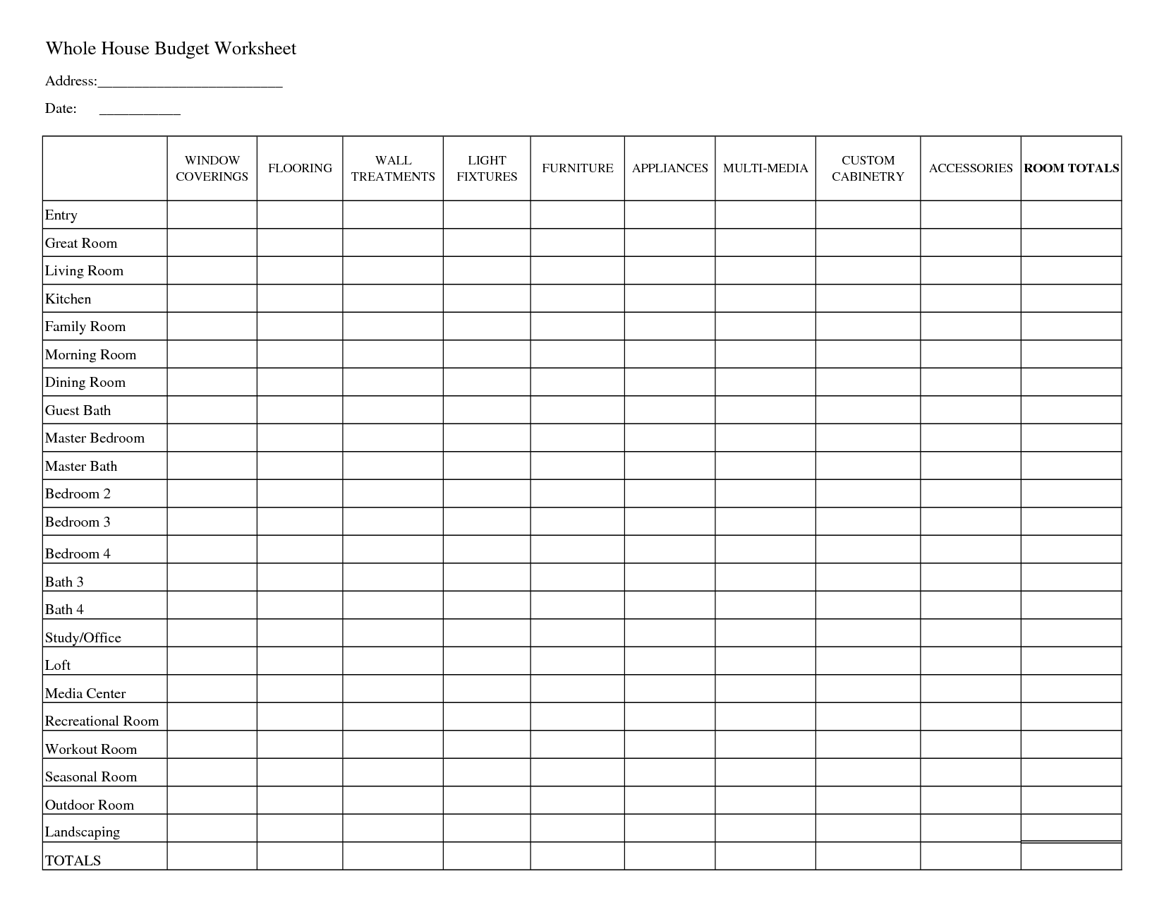 Easy Budget Spreadsheet Template Budget Spreadsheet Spreadsheet Templates for Busines Spreadsheet Templates for Busines Free Monthly Budget Spreadsheet Template
