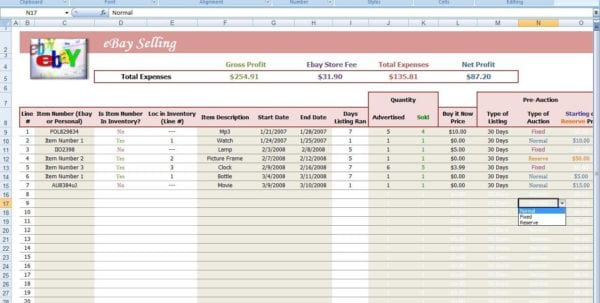 Ebay Spreadsheet Free Free Ebay Sales Tracking Spreadsheet Ebay Excel Templates Download Free Ebay Inventory Spreadsheet Template Ebay Inventory Spreadsheet Examples Ebay Profit Track Sales Excel Spreadsheet Free Ebay Accounting Spreadsheet