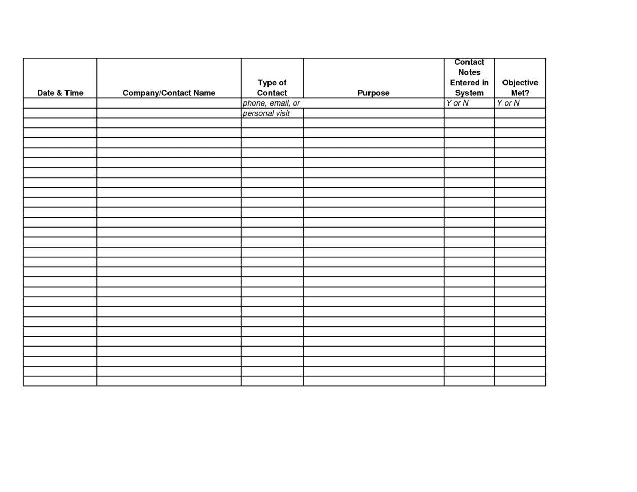 Employee Time Tracking Spreadsheet Template
