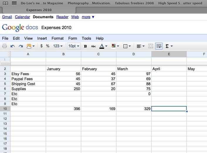 Excel Accounting Templates 1