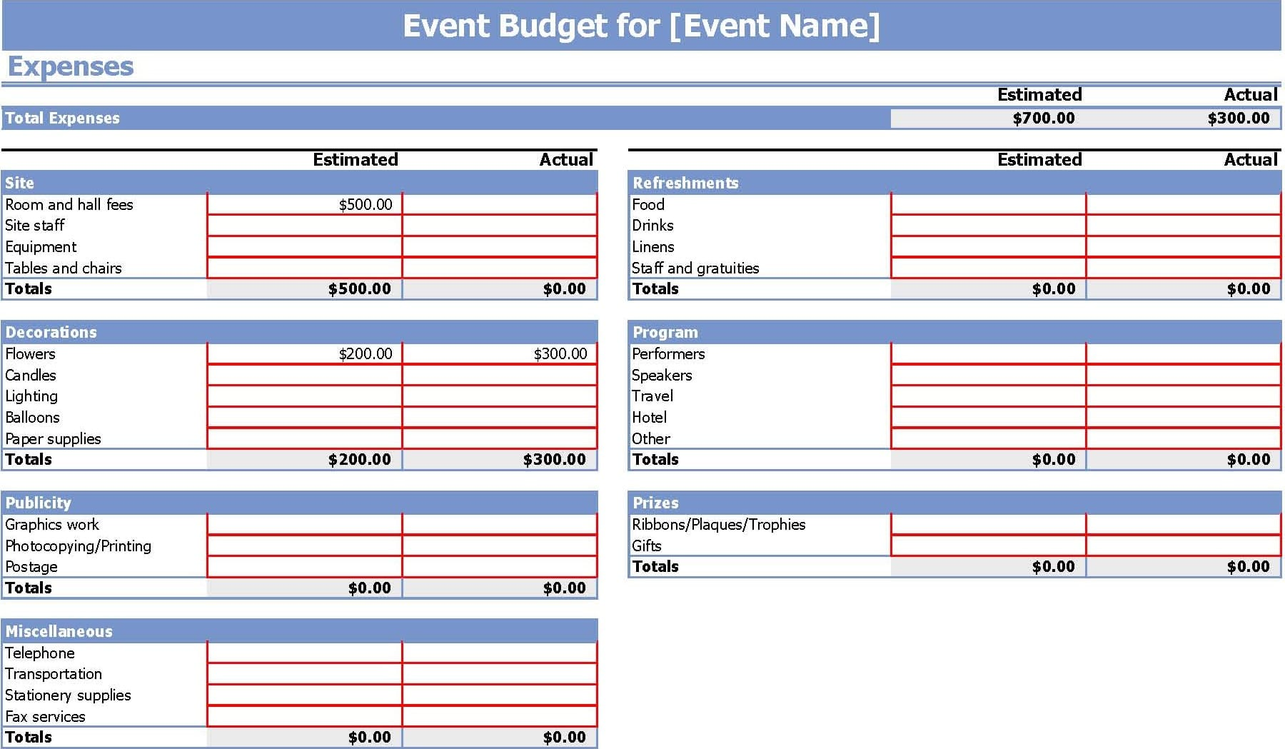 Free Budget Template Excel Monthly Budget Template Basic Budget Spreadsheet Basic Budget Spreadsheet Template Household Budget Template Excel Simple Budget Template Printable Monthly Budget Template