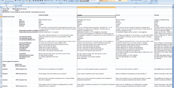 Customer Survey Template Word Free Survey Template Customer Spreadsheet Template Survey Tracker Spreadsheet Online Survey Data Excel Template Excel Spreadsheet For Survey Results Sample Excel Survey Template