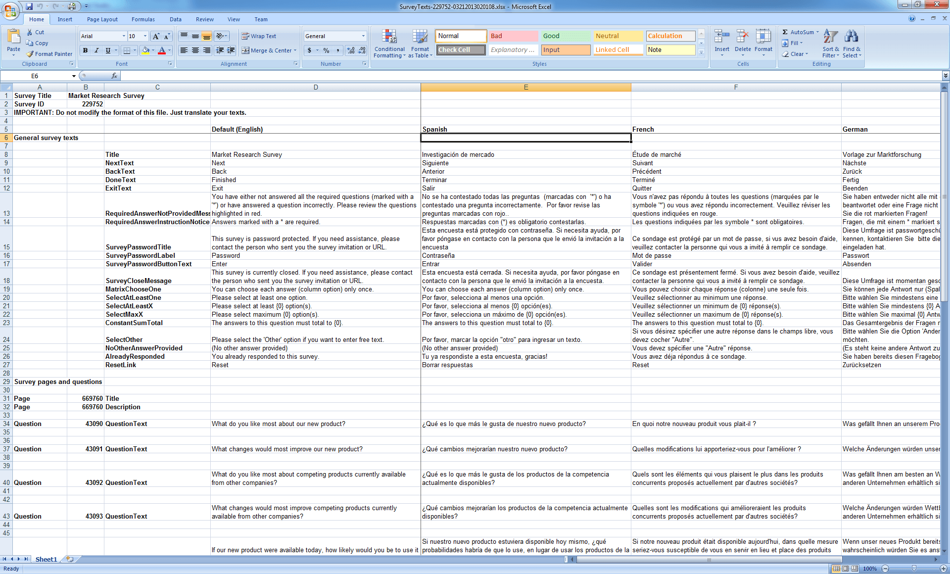 Excel Survey Template With Option Buttons Survey Spreadsheet Template Spreadsheet Templates for Busines Spreadsheet Templates for Busines Sample Excel Survey Template