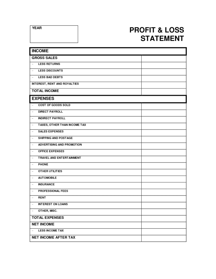 Expense Reports Free Templates 1