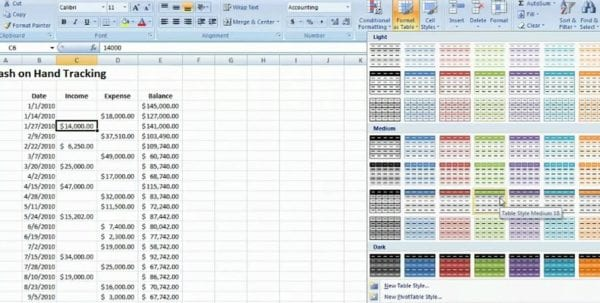 Excel Accounting Software Business Spreadsheet Of Expenses And Income Tracking Business Expenses Spreadsheet Accounting Excel Formulas Finance Excel Spreadsheets Accounting Microsoft Excel How To Do Small Business Accounting In Excel