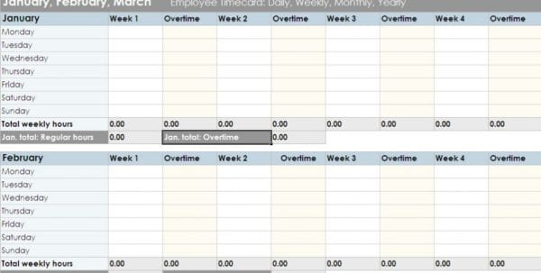 Free Excel Time Study Template