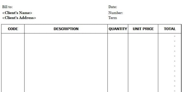 Free Invoice Templates Invoice Templates For Mac Spreadsheet Templates for Business