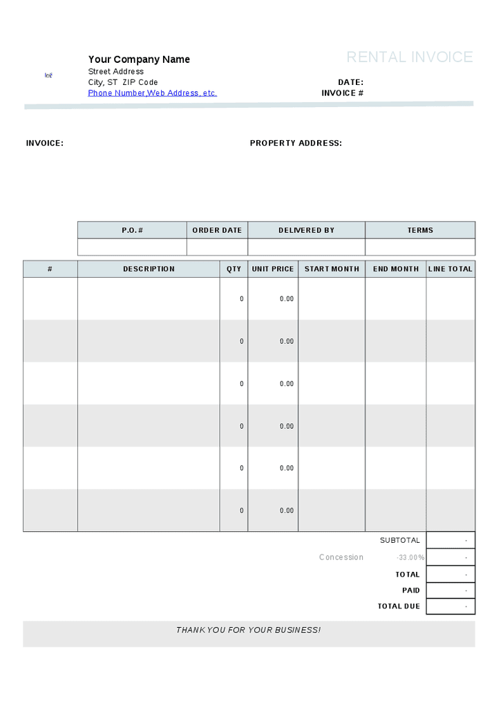 Free Landscaping Invoice Template Landscaping Invoice Template Spreadsheet Templates for Busines Spreadsheet Templates for Busines Forms Landscape Templates