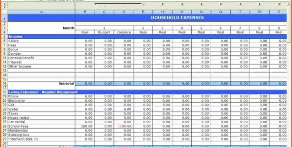 Free Printable Budget Templates Business Budget Template Excel Easy Budget Spreadsheet Household Budget Template Excel Free Monthly Budget Worksheet Free Budget Templates For Excel Free Monthly Budget Spreadsheet Template