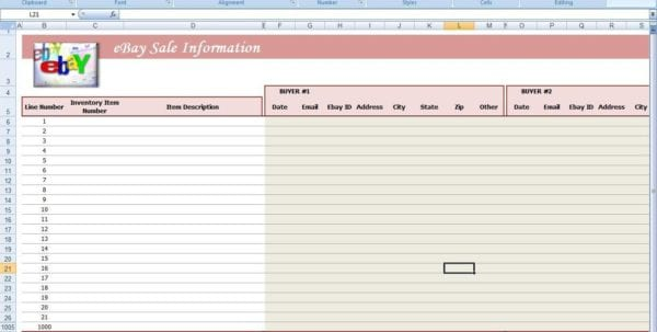 Free Ebay Inventory Spreadsheet Template Free Excel Spreadsheet For Ebay Ebay Inventory Spreadsheet Examples Small Business Spreadsheet For Income And Expenses Free Spreadsheet For Ebay Sales Ebay Excel Templates Download Ebay Profit Track Sales Excel Spreadsheet