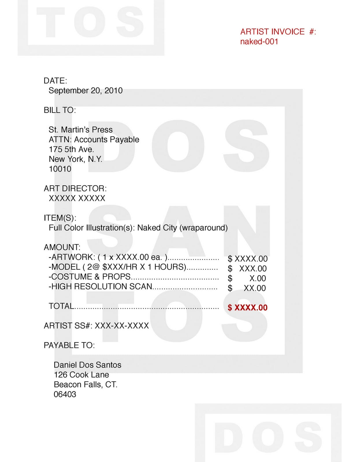 Artist Invoice Template Artist Invoice Sample Makeup Artist Invoice Sample Artist Bill Of Sale Freelance Artist Invoice Template Freelance Invoice Samples Freelance Makeup Artist Invoice Template