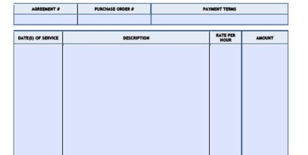 How To Bill For Consulting Services Sample
