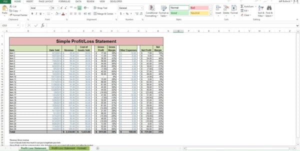 Free Spreadsheet Templates Pl Template Excel Profit And Loss Statement Template For Self Employed Monthly Profit And Loss Template How To Prepare Profit And Loss Account In Excel Microsoft Excel Spreadsheet Templates Profit And Loss Template Uk