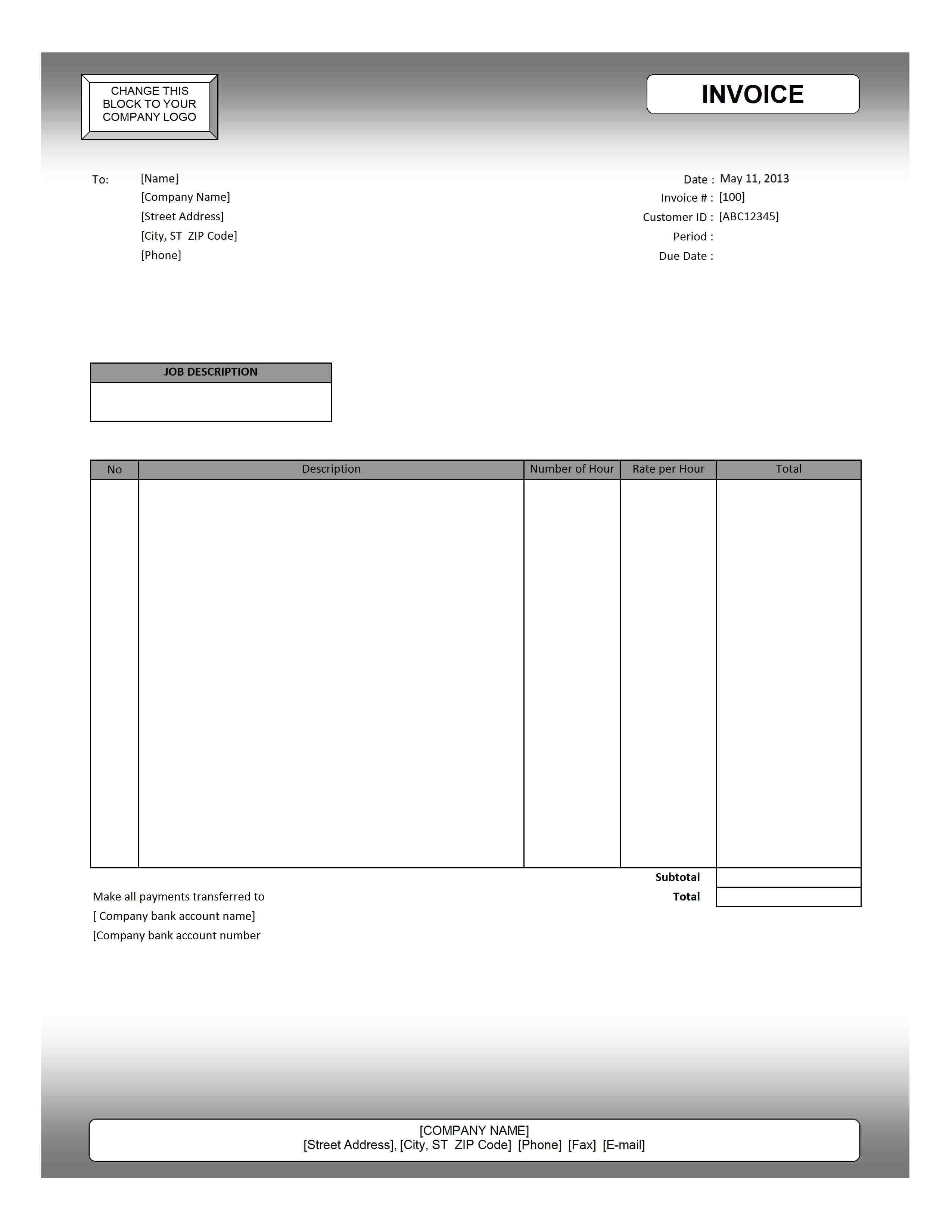 Invoice Example Invoice Template Google Docs Spreadsheet Templates for Busines Spreadsheet Templates for Busines Sample Invoice Template Word Doc