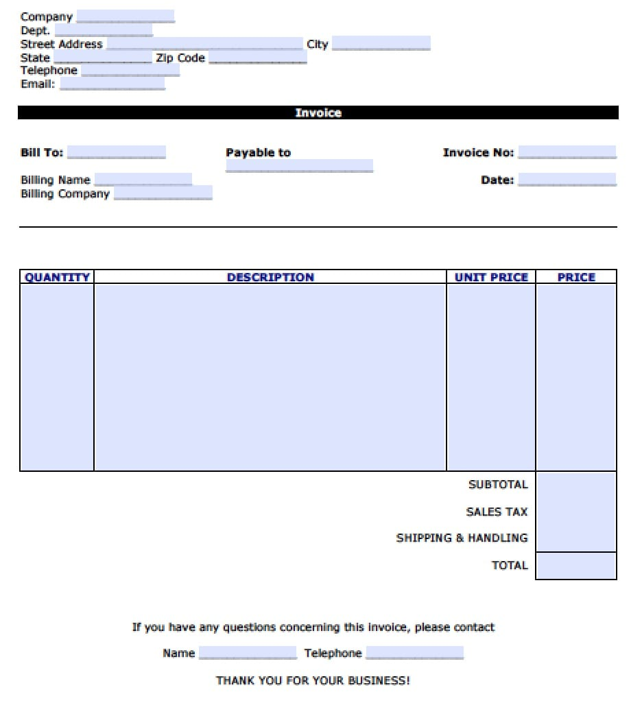 Invoice Template Microsoft Word 2003 Invoice Template Microsoft Word Spreadsheet Templates for Busines Spreadsheet Templates for Busines Invoice Templates Printable Free