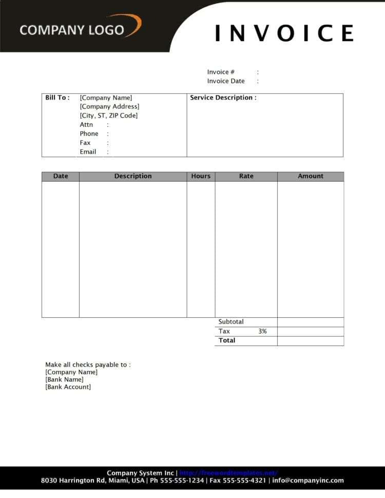 Ms Word 2013 Invoice Template Microsoft Word Billing Invoice Template Invoice Template Microsoft Word 2003 Invoice Template Microsoft Excel Microsoft Word Service Invoice Template Word Invoice Template With Logo Simple Invoice Template Microsoft Word  Invoice Template Microsoft Word 2010 Invoice Template Microsoft Word Spreadsheet Templates for Busines