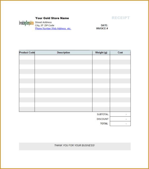 Invoice Template Microsoft Works