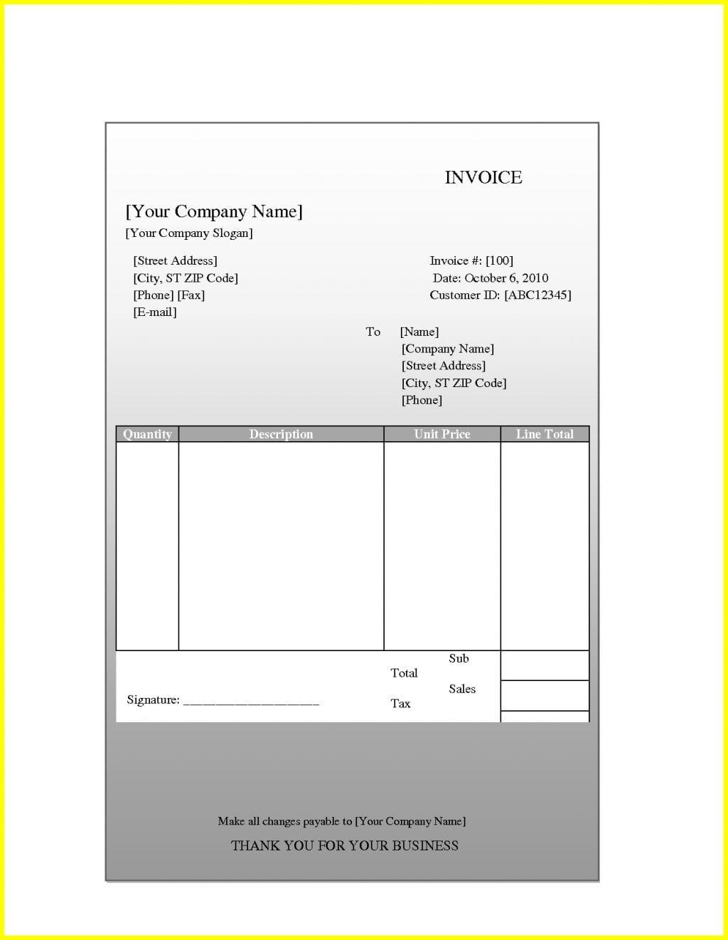 Invoice Template Quickbooks Online Invoice Template Quickbooks Spreadsheet Templates for Busines Spreadsheet Templates for Busines Quickbooks Invoice Sample