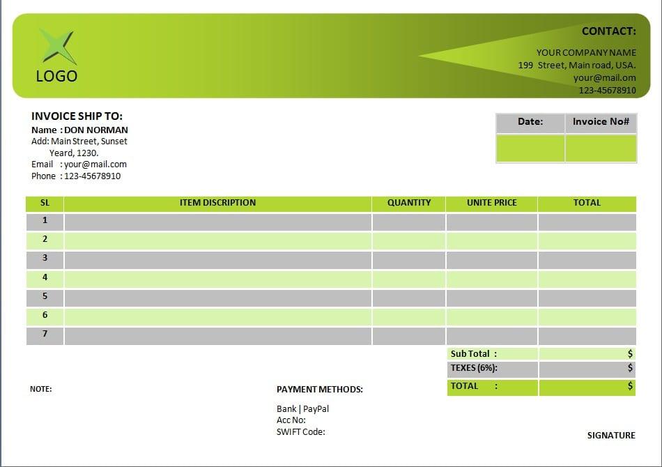 Invoice Templates For Microsoft Excel Invoice Templates For Microsoft Word Spreadsheet Templates for Busines Spreadsheet Templates for Busines Free Invoice Templates For Microsoft Word