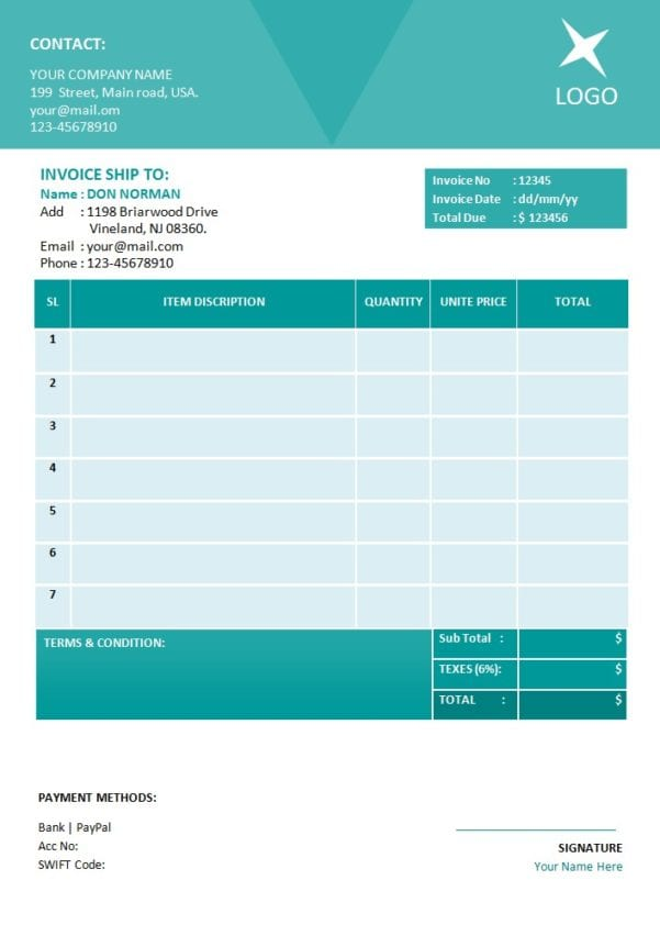 Invoice Templates For Microsoft Word Mac Invoice Templates For Microsoft Word Spreadsheet Templates for Busines