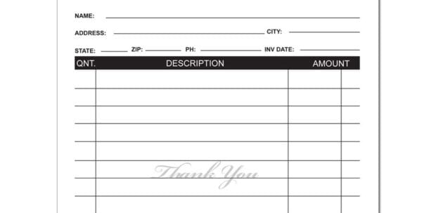 Labor Invoice Template Excel