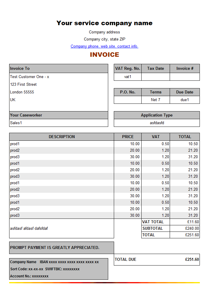 Paypal Invoice Maker