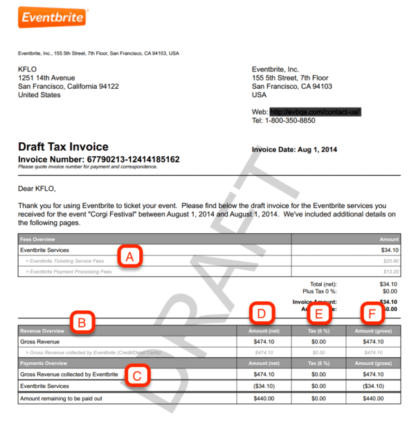 Paypal Invoice Number