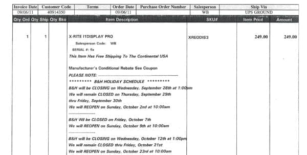 Photography Invoice Template Mac