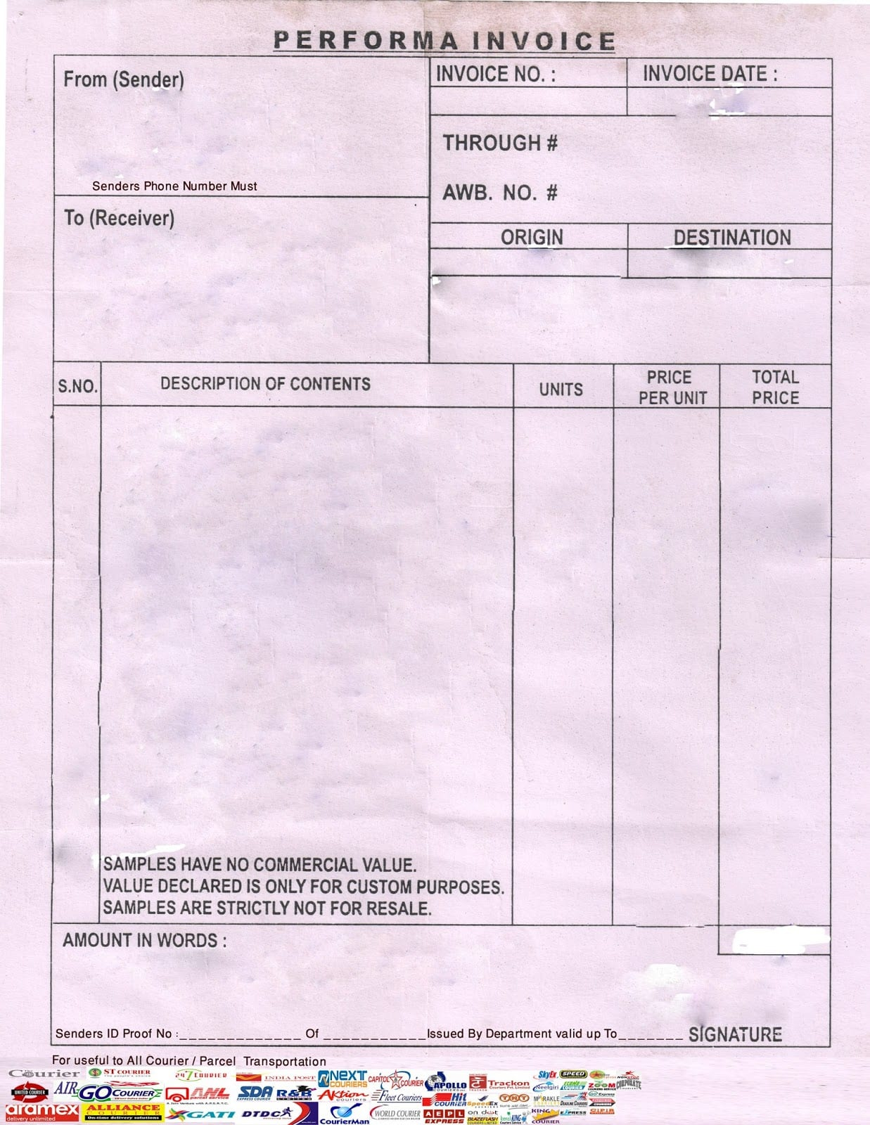Quickbooks Invoice Template Default