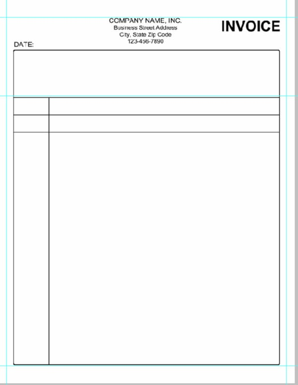 Quickbooks Invoice Template Download
