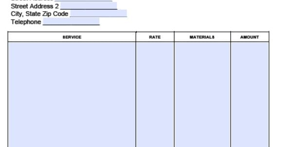 Service Invoice Template Landscaping Invoices Forms Landscaping Invoice Template Excel Sample Landscape Invoice Templates Forms Landscape Templates Landscaping Invoice Forms Landscaping Invoice Template Pdf