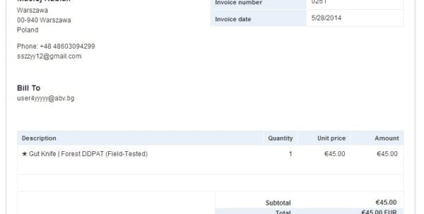Youve Received An Invoice Paypal