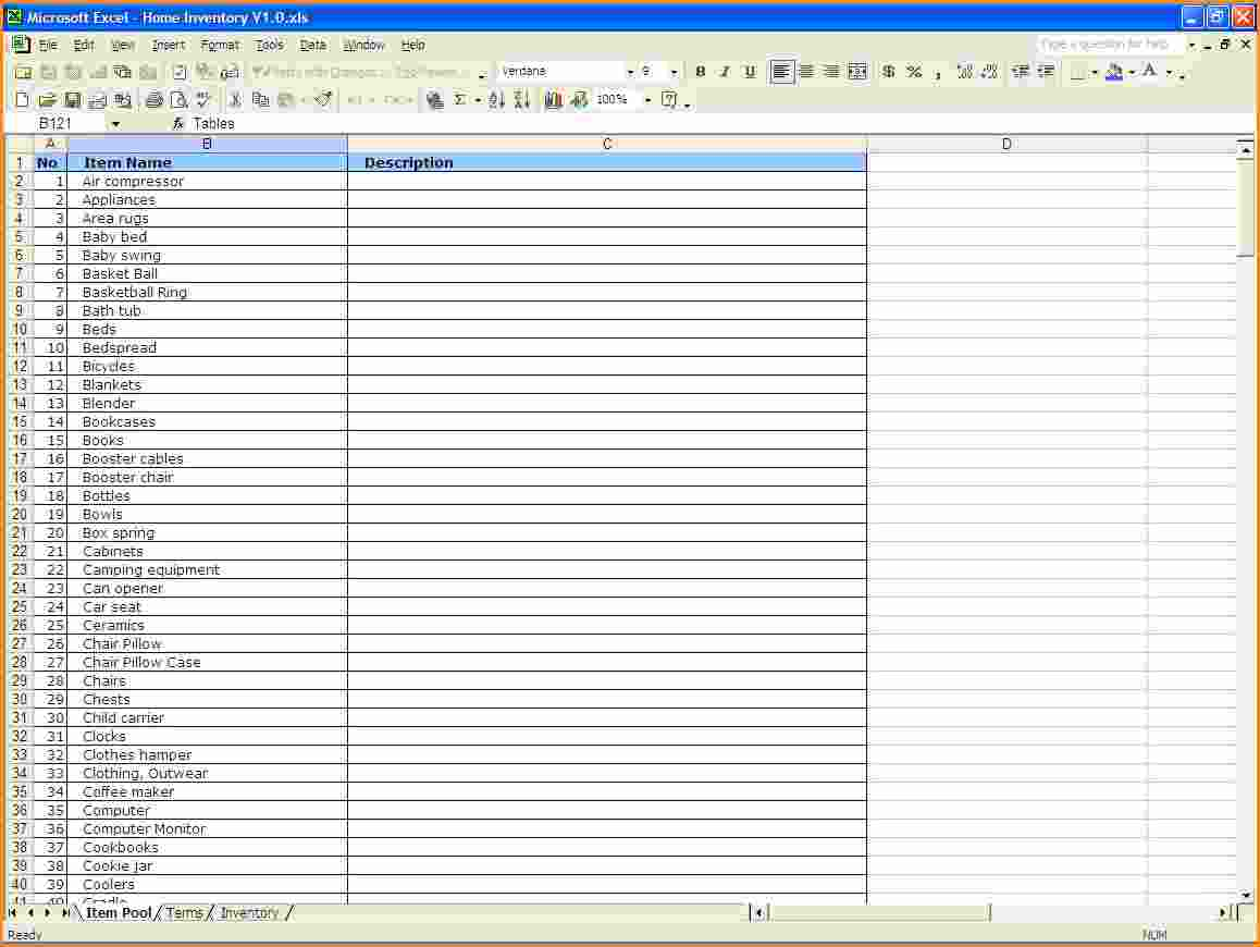 Blank Inventory Sheets To Print 1 Inventory Spreadsheet Template For Excel Spreadsheet Templates for Busines Spreadsheet Templates for Busines Excel Inventory Template With Formulas